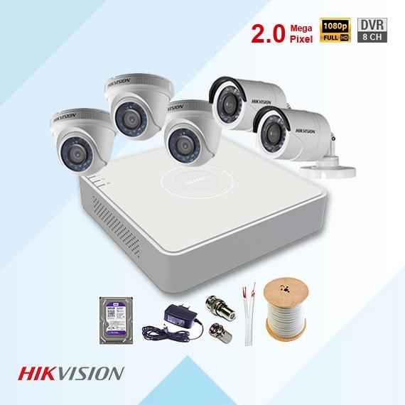 bộ camera hikvision
