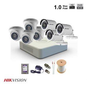 lắp trọn bộ camera hikvision